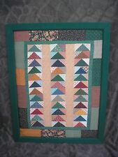 Disney Fort Wilderness Cabins Wall Art Fabric with hidden Mickeys / Prop / Used