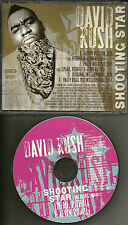 DAVID RUSH LMFAO & PITBULL Shooting Star MIX & 2 INSTRUMENTAL PROMO DJ CD single