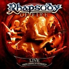 NEW Live: From Chaos To Eternity [limited Edition] by Rhapsody Of... CD (Vinyl)