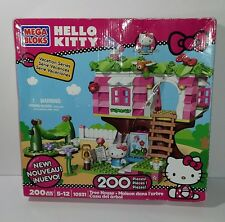 Mega Bloks Hello Kitty Tree House Building Set 10931 w/ Instructions