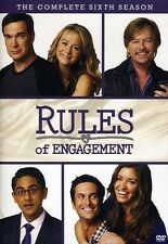 Rules of Engagement: The Complete Sixth Season [ (2012, DVD NEW) DVD-R2 DISC SET