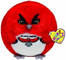 "TY BEANIE BALLZ NBA ATLANTA HAWKS PLUSH 5"" NEW W/TAGS"