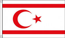 5' x 3' North Cyprus Flag Northern Cypriot Middle East Turkey Turkish Banner