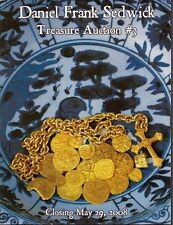 Daniel Frank Sedwick Treasure Auction 3, May 2008, shipwreck treasure coins cobs