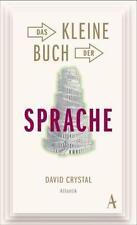 DAVID CRYSTAL - DAS KLEINE BUCH DER SPRACHE