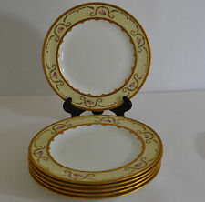 ROYAL CROWN DERBY FOR TIFFANY & CO SET OF 6 SALAD PLATES