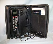 Vtg Motorola California Mobile Phone Car Phone SCN2462A Bag Owners Manual
