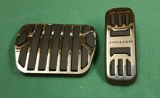 GENUINE JAGUAR XK XK150 & F-TYPE 2 PIECE CHROME SPORT PEDAL KIT C2P23554