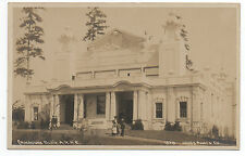 1909 RPPC Postcard of the Canadian Building at the AYP Alaska Yukon Expo Seattle