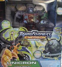 Transformers Energon Unicron Black Version Rar New SEALED