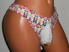SOFT COTTON HEARTS THONG Sissy  POUCH Panties 28-38 M  MEN SEXY CROSSDRESS