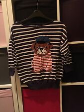Stripy Pug Jumper By Henry Lloyd 8