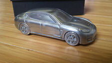 Porsche Panamera Turbo paperweight/desk model collectible metal