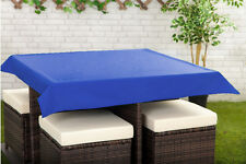 """Bleu 70 x 90"""" rectangulaire nappe extérieur imperméable jardin salle à manger 178x228cm"""
