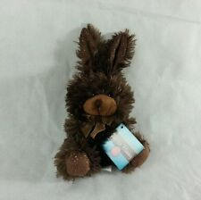 "Bunny Rabbit Plush Stuffed Animal  Brown 7"" SMALL (Chocolate Scented)"