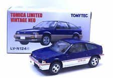 JAPAN TOMYTEC TOMICA LIMITED LV-N124C HONDA BALLADE SPORTS CR-X CRX BLUE 1/64