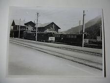 SUIS508 - 1950s SCHYNIGE PLATTE BAHN Railway - TRAIN PHOTO Switzerland