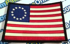Betsy Ross American 1776 USA Flag Embroidered Patch with Full Stars Iron on