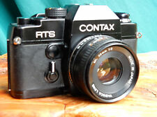 fotocamera CONTAX RTS con ob. Yashica ml 1:2 /50 mm