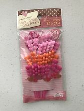 Bento Heart Picks Long (30picks) NEW