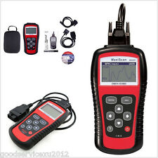 Autos EOBD OBD2 OBDII Live Data Code Reader Diagnostic Scanner Engine MS509 Kit