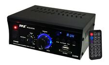 Pyle PCAU25A Mini 2Ch Amplifier With USB
