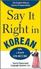 2008-05-15, Say It Right in Korean: TheFastest Way to Correct Pronunication, EPL