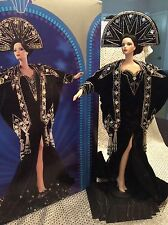 ERTE STARDUST BARBIE  2nd in SERIES LIMITED EDITION PORCELAIN DOLL MATTEL 14109