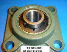 "(Qty 1) 1"" UCF205-16 Quality square flanged UCF205 Pillow block bearing ucf 205"