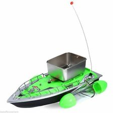 Mini RC Wireless Bait Boat Fishing Lure 200M Remote Control Finding Fish Green
