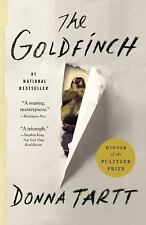 The Goldfinch by Donna Tartt Pulitzer Prize Winner Novel Fiction 771 Pages