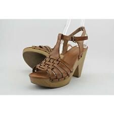 Indigo Rd. Kokko Women US 7.5 Tan Platform Sandal Pre Owned  1964