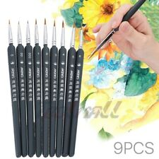 "Dynasty Eye Of The Tiger SET /""D/"" Filbert Paint Brushes 4-6-8 06528"