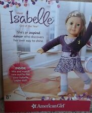 Exclusive American Girl Isabelle Paper Doll Set Kit ONE COPY