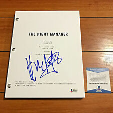 HUGH LAURIE SIGNED THE NIGHT MANAGER FULL 65 PAGE PILOT SCRIPT - BECKETT BAS COA