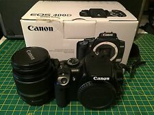 Canon EOS 400D 10.1MP Digital SLR Camera - Black (Kit w/ EF/EF S 18-55mm Lens)