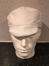 CHEF SKULL CAP WITH PEAK CHEFS HAT PROFESSIONAL CATERING RESTAURANT HYGIENE