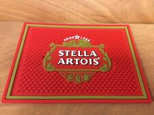 "Stella Artois Beer Bar Spill Mat - New In Package FS- 12"" x 9"" - Factory Seconds"