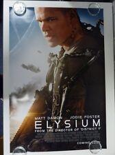 Elysium Matt Damon Jodie Foster Action Original Movie Poster One Sheet 69x98cm