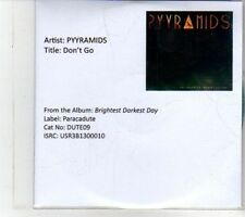 (DS186) Pyyramids, Don't Go - 2013 DJ CD
