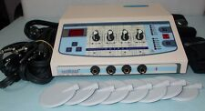 Electronic Stimulator Electro therapy Machine Pain Relief Stimulator 4 Ch DYL @3