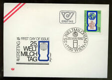 Austria 1982 World Dairying Day FDC #222