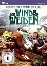 Der Wind in den Weiden - Staffel 5 * DVD Puppentrickserie Kenneth Grahame Pidax