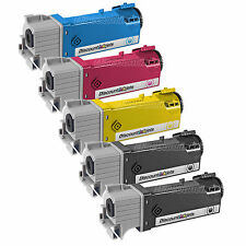 5 BLACK & COLOR 106R01597 Toner Cartridge for Xerox Phaser 6500 Workcentre 6505