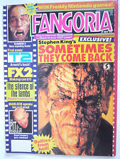 FANGORIA MAGAZINE #101 SCANNERS 2 / TERMINATOR 2 / SOMETIMES THEY COME BACK