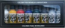 Aerógrafo De Pinturas-Vallejo Model Air Basic Kit De Color (8 x 17ml Botellas)