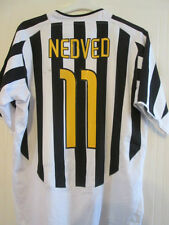 "Juventus 2003-2004 Nedved Home Football Shirt Size XL 45""-47""  /35261"