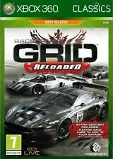 Race Driver Grid Reloaded Classics Xbox 360 * NEW SEALED PAL *