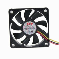 New 60mm 12v 60x10mm 3 Pin DC Brushless Fan for Computer PC Host Cooling