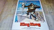 KING KONG !  affiche cinema 1976